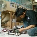 Pemasangan komponen